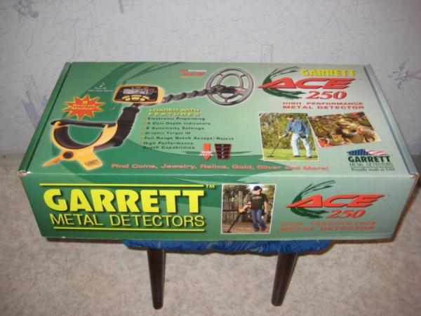 металлодетектор garrett ace 250