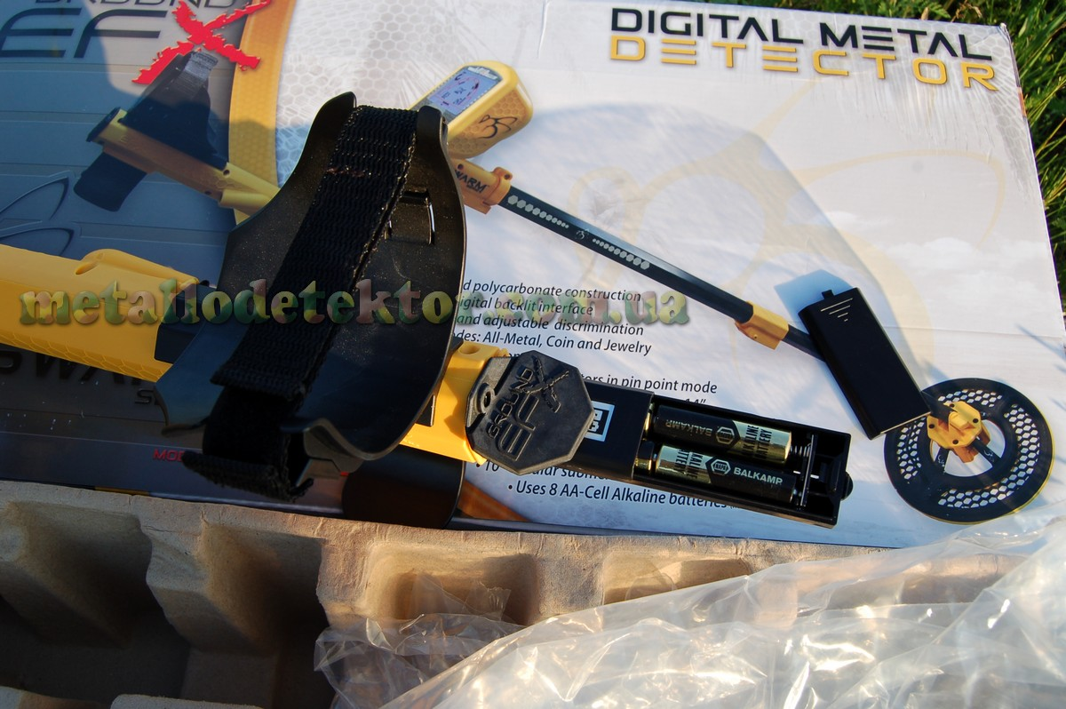 металлоискатель Ground EFX MX100