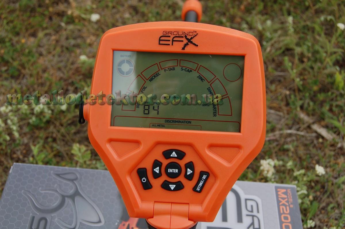 Металлоискатель Ground EFX mx200e