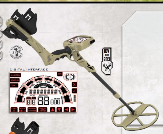Металлоискатель Ground EFX MX300