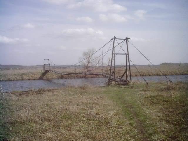 мост на александровку надежодвка гусаровка