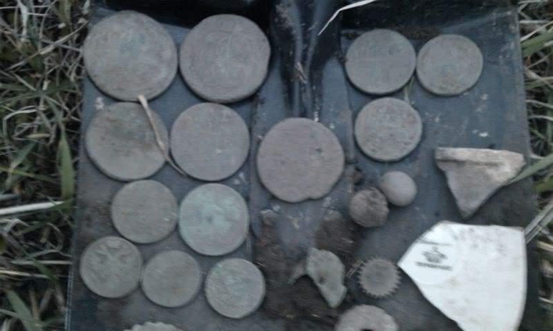 монеты из земли итог копа