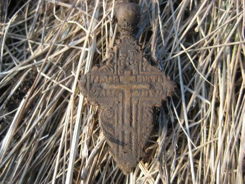 крест с весеннего копа