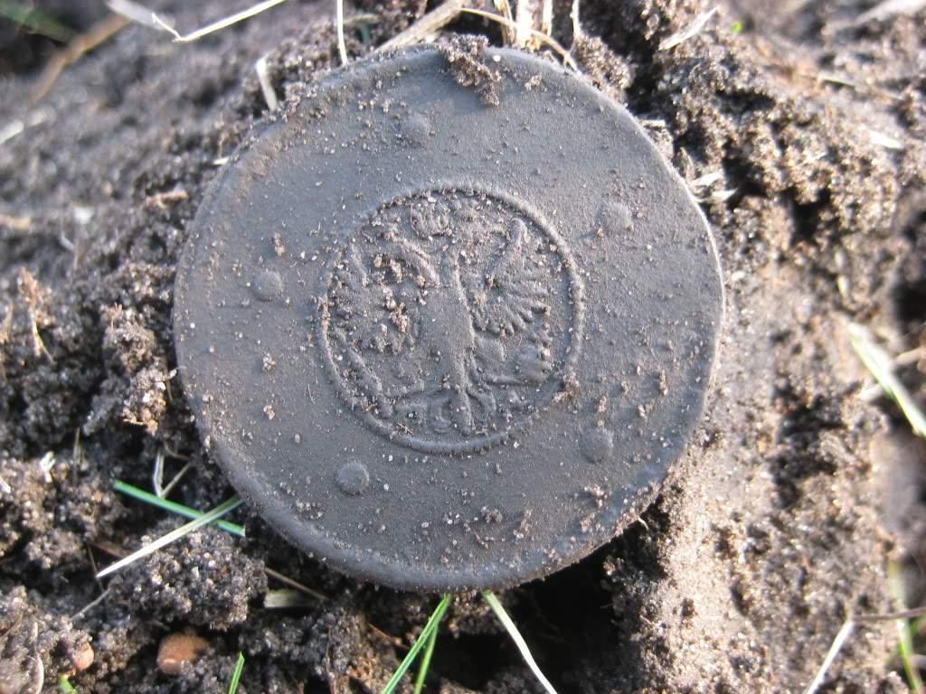пятак крестовик 1730 года