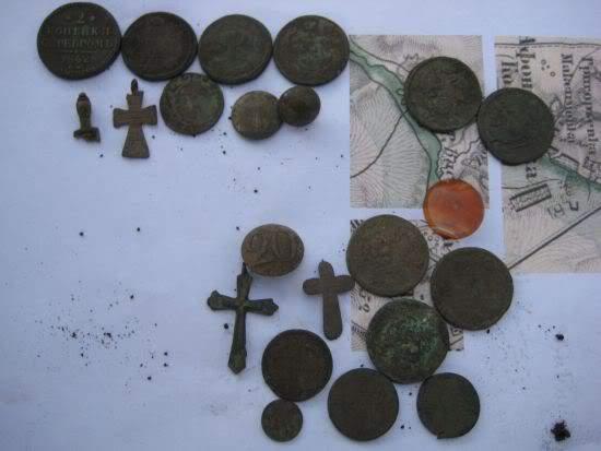 находки монеты славянск корчма