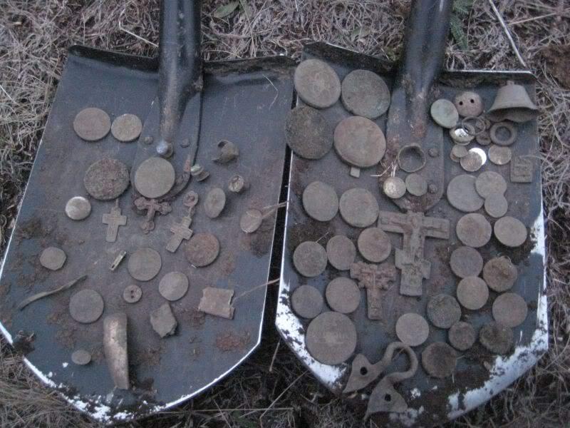 лопата находок