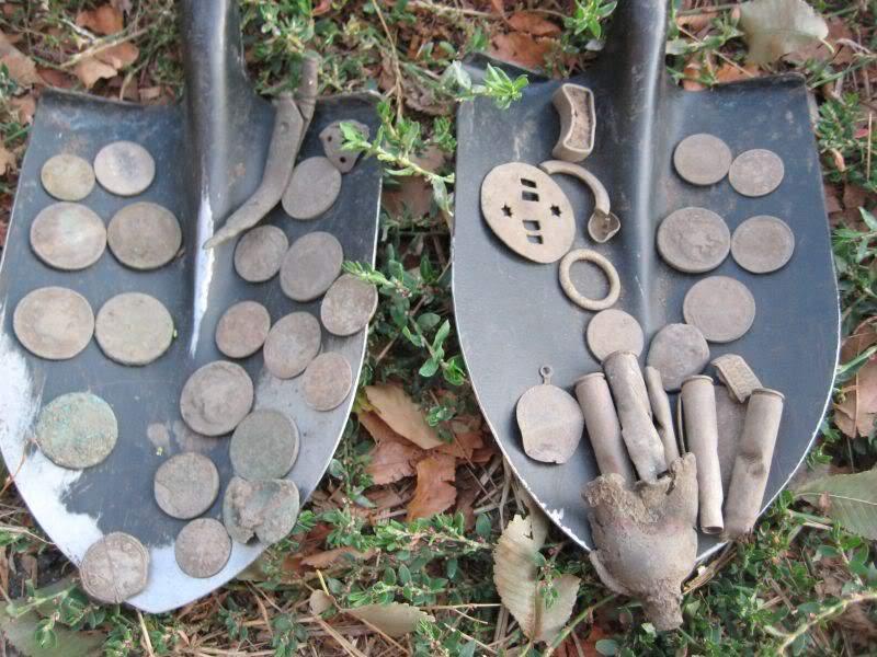 итог копа накопали находки монеты