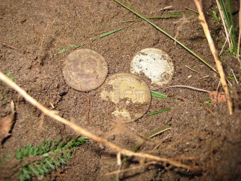 три советские монеты