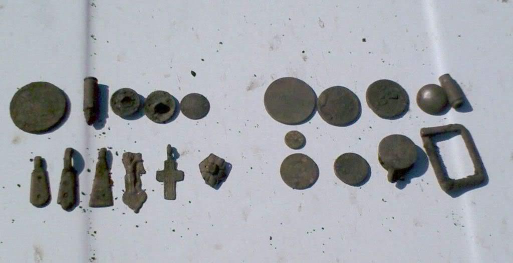 находки с выбитых корчем донецкая область монеты крестики